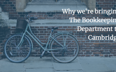 Why We're Bringing The Bookkeeping Department to Cambridge