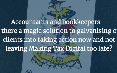Making Tax Digital – The Magic Solution